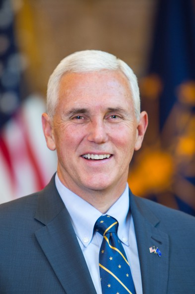 Mike Pence. Photo from the State of Indiana.