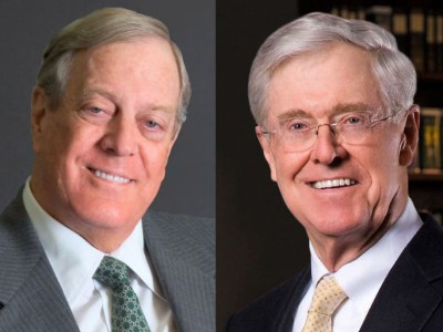 Campaign Cash: Koch-Funded Group Backs Tax Cut