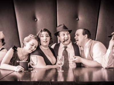 "Village Playhouse Presents 1940s Radio Noir Comedy, ""Jake Revolver, Freelance Secret Agent"""