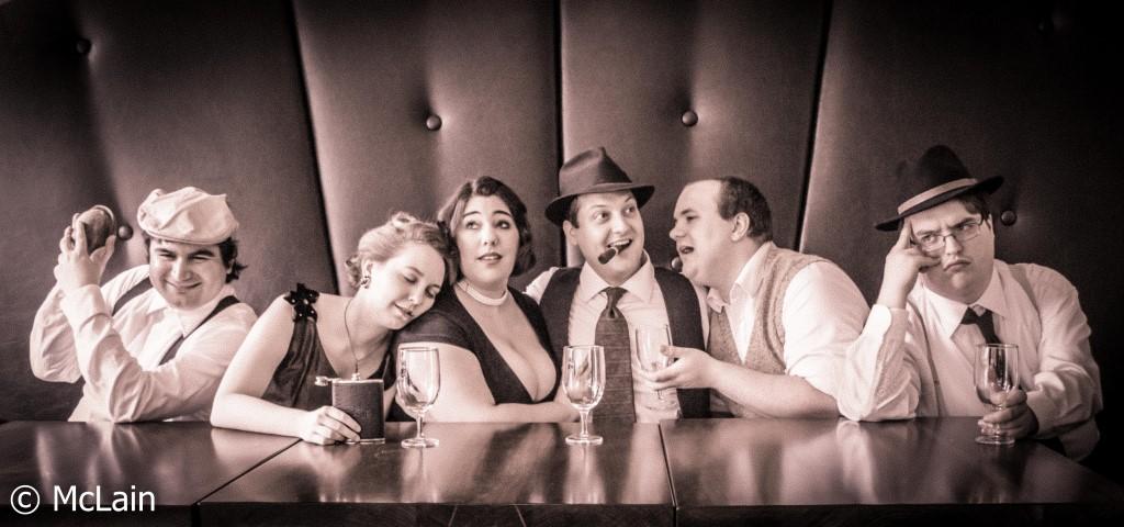 "Village Playhouse Presents 1940s Radio Noir Comedy, ""Jake Revolver, Freelance Secret Agent"""