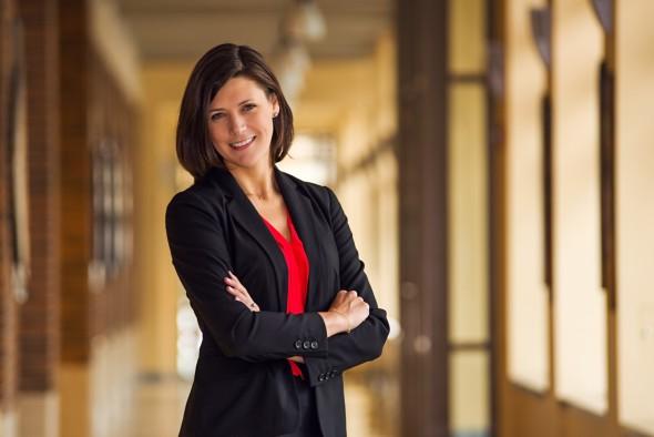 Lora Strigens. Photo courtesy of Marquette University.