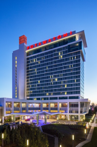 Potawatomi Hotel & Casino. Photo courtesy of Potawatomi.