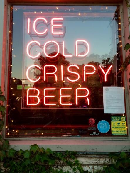 """Ice Cold Crispy Beer."" Photo by Joey Grihalva."