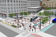 4th and Wisconsin Streetcar Rendering
