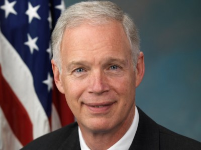 Senator Johnson Refuses to Denounce Trump. Still.