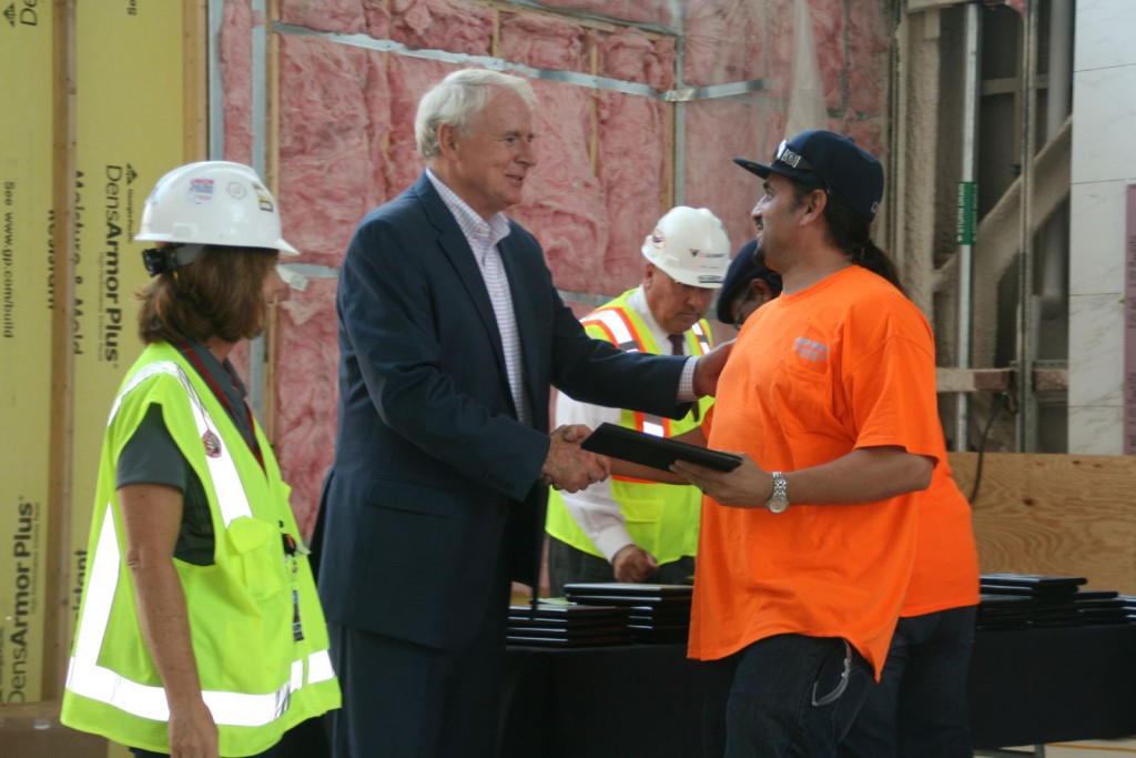Mayor Barrett Highlights Neighborhood Revitalization Effort