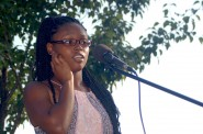 "Poets Take ""Soapbox Therapy"" To Sherman Park. Photo courtesy of NNS."