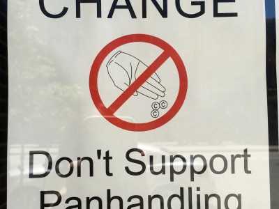 City Takes Stance Against Panhandling