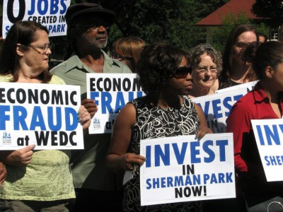Did State Create Jobs in Sherman Park?