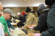 St. Ben's Community Meal, a program of St. Benedict the Moor parish, provides dinner to impoverished Milwaukeeans six days a week. Photo by Sue Vliet.