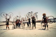 Ovarian Psycos, a film about a women of color bicycle crew, is one of six films to be featured as part of Cine Sin Fronteras at Milwaukee Film's upcoming festival. Photo courtesy of Milwaukee Film.