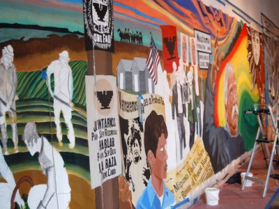 Mural Honors 50-Year Legacy of UMOS