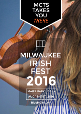 Save Some Green: Head to Irish Fest with MCTS Bus Service