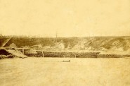 Milwaukee River Dam, 1850s. Image courtesy of Jeff Beutner.