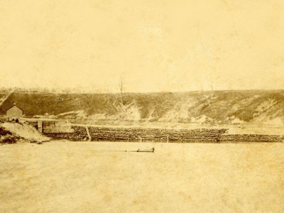 Yesterday's Milwaukee: Milwaukee River Dam, 1850s