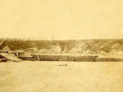 Yesterday's Milwaukee: Milwaukee River Dam, 1850s
