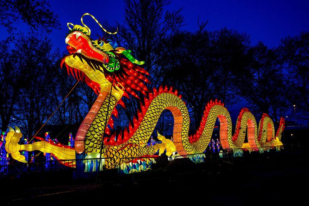 China Lights: Boerner Brighter Than Ever. Photo courtesy of Milwaukee County Parks.