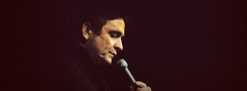 Johnny Cash. Photo from Facebook.