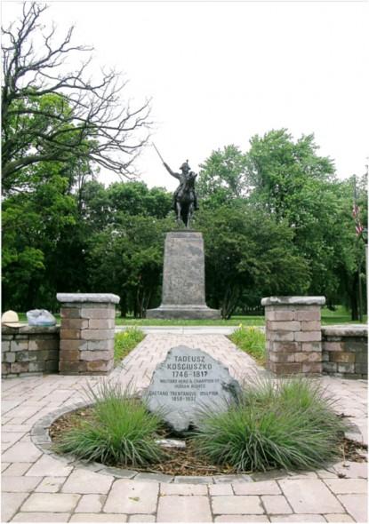 Statue of General Thaddeus Kosciuszko. Photo courtesy of Rick Petrie.