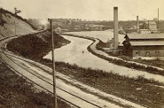 Milwaukee's Canal, Mid 1860s. Image courtesy of Jeff Beutner.