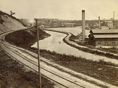 Yesterday's Milwaukee: Milwaukee's Canal, Mid 1860s