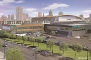 McKinley Health Center Rendering. Rendering by Populous.