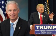 Ron Johnson and Donald Trump.