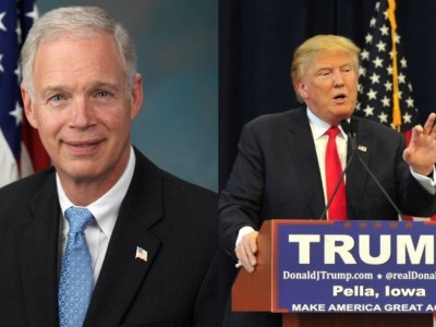 Senator Johnson's Biggest Supporters Line Up Behind Trump