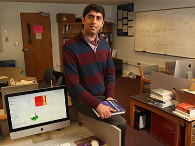 Marquette mathematics, statistics and computer science professor receives Way Klingler Young Scholars Award
