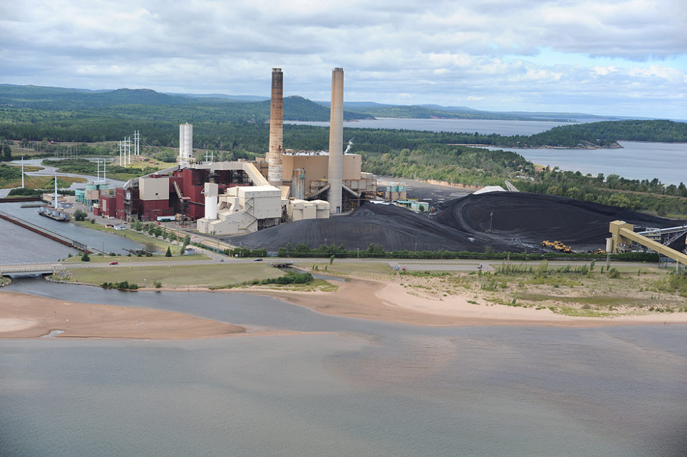 The Presque Isle power plant near Marquette, Michigan. Photo from the Superior Watershed Partnership.
