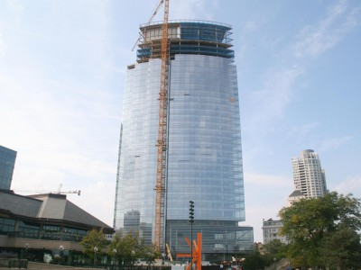 Friday Photos: New Tower Scrapes The Sky