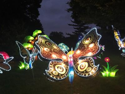 Chinese Lantern Festival Opening at Boerner Botanical Gardens, Oct. 1