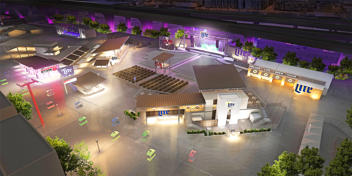 MillerCoors and Milwaukee World Festival, Inc. Renews Long-Term Partnership Plans to Renovate Miller Lite Oasis as Henry Maier Festival Park.