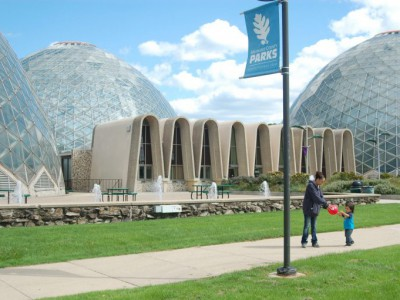 Tropical Dome Reopens at Mitchell Park