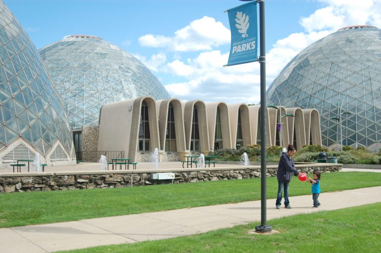 The second of three Mitchell Park Domes, the Tropical Dome (pictured right), reopened recently after being shuttered in February. Photo by Edgar Mendez.