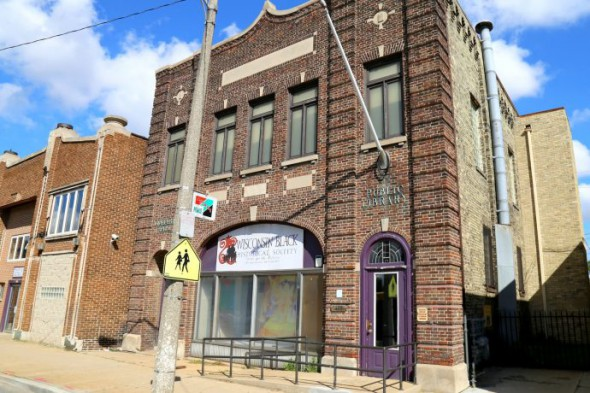The Wisconsin Black Historical Society serves as a museum and resource for people interested in African-American history. Photo by Allison Steines.