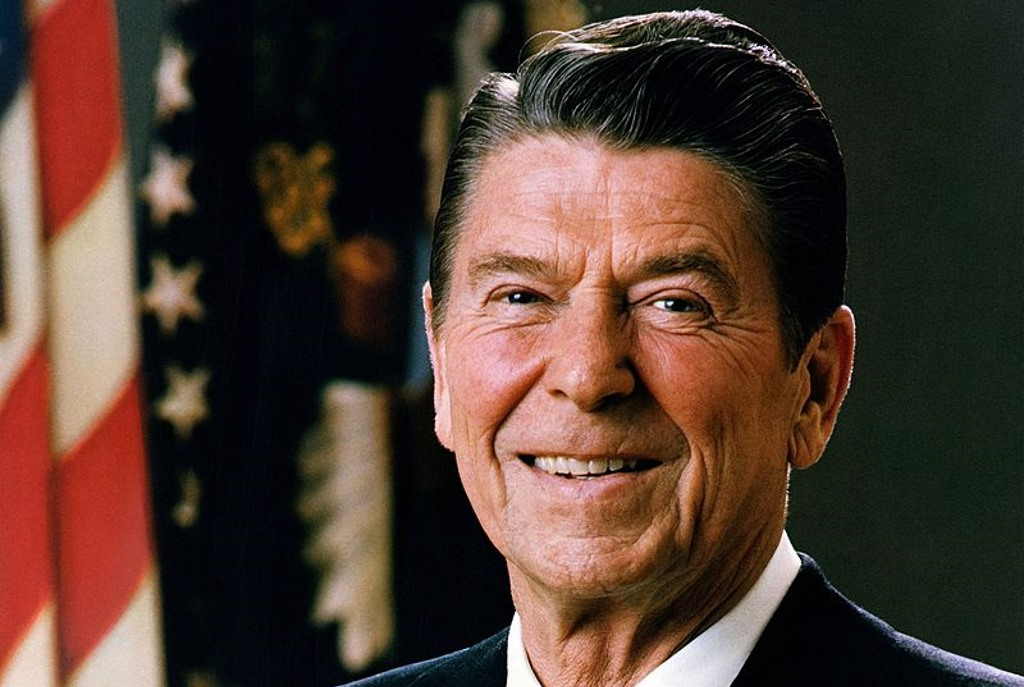 Ronald Reagan. Official Portrait of President Reagan 1981 (Public Domain).