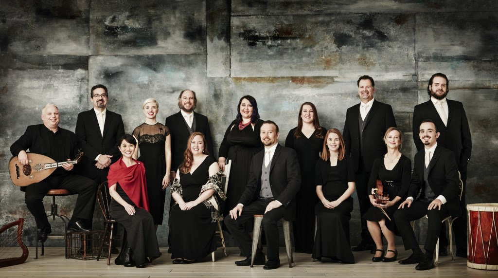 Rose Ensemble. Photo courtesy of Early Music Now.