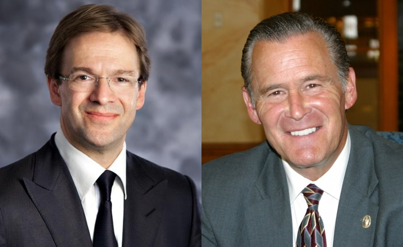 Chris Abele and Bob Donovan.Chris Abele and Bob Donovan.