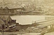 Milwaukee & Rock River Canal, 1870. Image courtesy of Jeff Beutner.