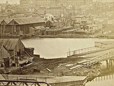 Yesterday's Milwaukee: Milwaukee & Rock River Canal, 1870