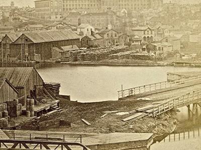 Yesterday's Milwaukee: Milwaukee & Rock River Canal, 1870