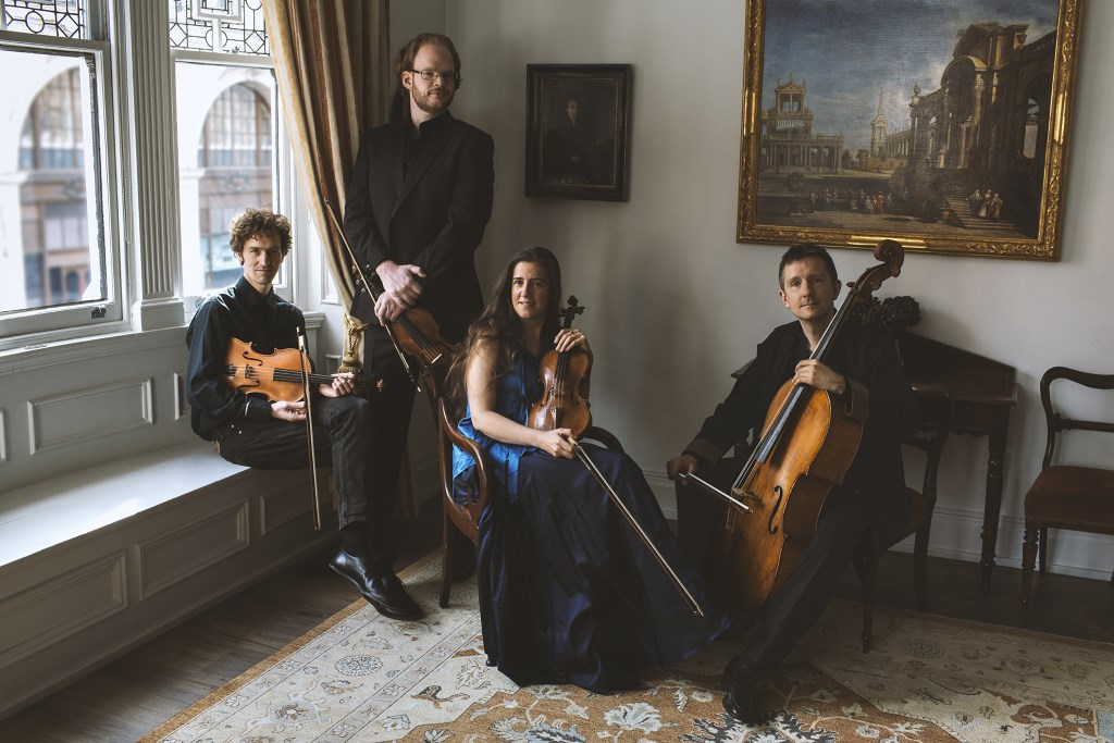 London Haydn Quartet Credit David Brunetti. Photo courtesy of Early Music Now.