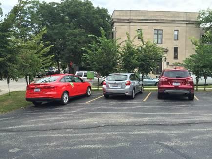 ZipCars at Kenwood United Methodist Church.