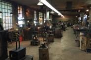 Inside the Milwaukee Blacksmith. Photo by Dave Reid.