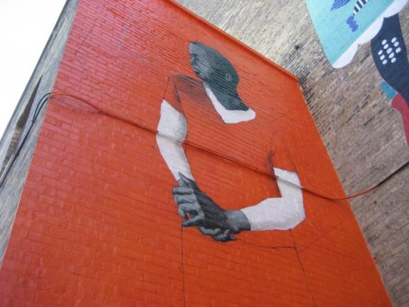 Adam James Stoner's mural. Photo by Michael Horne.