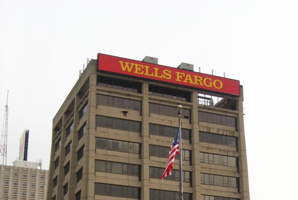 Wells Fargo. Photo by Christopher Hillard.
