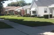 Whitnall Avenue homes. Photo by Carl Baehr.