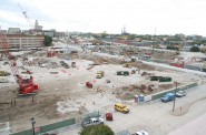 New Bucks Arena Construction. Photo by Jeramey Jannene.
