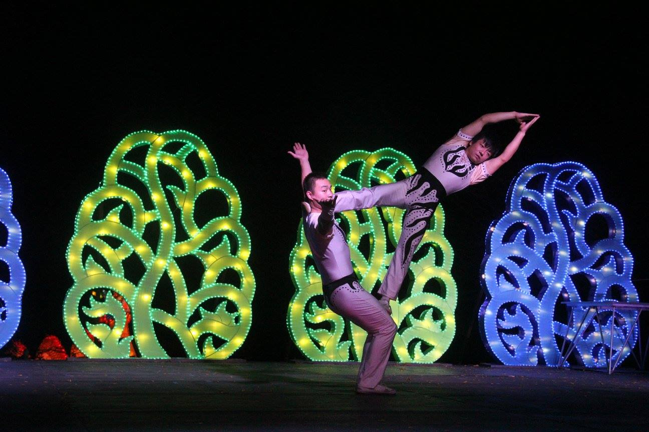 China Lights Acrobats. Photo courtesy of Milwaukee County Parks.